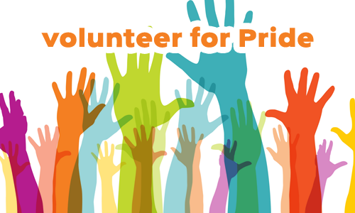 Volunteer for Pride