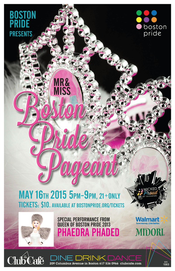 Mister & Miss Boston Pride Pageant 2015
