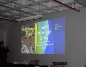 2017 Boston Pride Honorary Marshal John Michael Gray