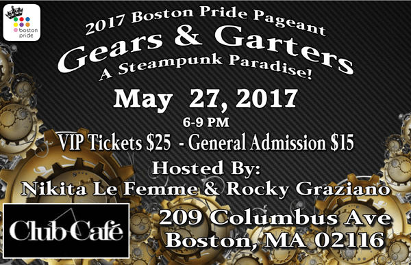 Boston Pride Pageant 2017