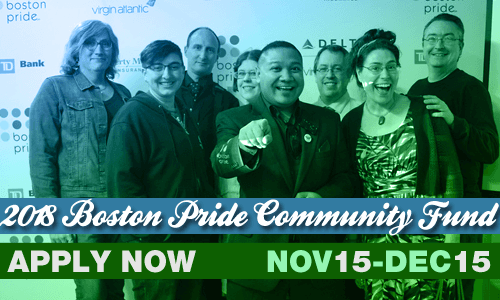 Boston Pride Community Fund