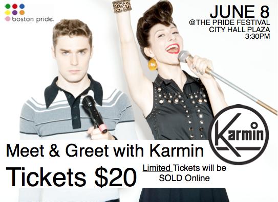 Karmin Meet and greet!