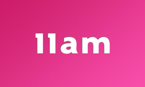 Parade starts at 11am in 2014