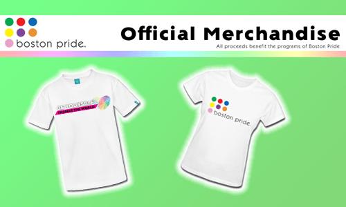 Official Boston Pride merchandise