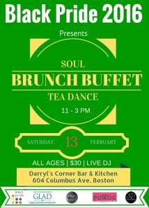 SOUL BRUNCH TEA DANCE