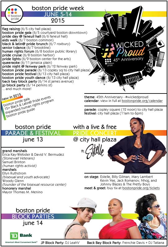 Boston Pride Week 2015