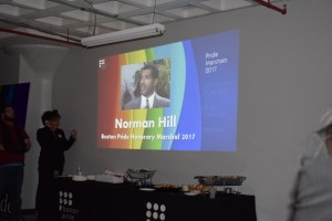 2017 Boston Pride Honorary Marshal Norman Hill
